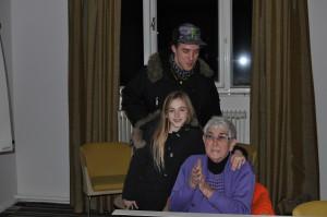 Coby de Haan signeert